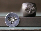 Brand New Supply Guy 8mm Tree of Life Metal Punch Design Stamp CH-112