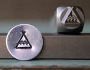 Brand New Supply Guy 6mm Southwest Teepee Punch Design Stamp CH-106