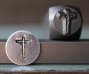 Brand New Supply Guy 8mm Jesus Cross Metal Punch Design Stamp CH-102