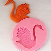 HotHeart 3D Silicone Mould Swan Fondant Mould For Candy Chocolate Cake -Pier 27