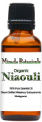 Miracle Botanicals Organic Niaouli Essential Oil - 100% Pure Melaleuca Quinquenervia - 1oz. or 2oz. Sizes - Therapeutic Grade - 30ml/1oz.