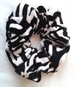 Zebra Velvet Hair Scrunchies-Regular