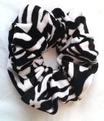 Zebra Velvet Hair Scrunchies-Regular