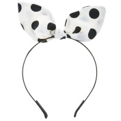Polka Dot Flexible Ribbon Headband