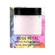 Tammy Taylor Nails - Micro holographic dazzle rocks Prizma Acrylic - 30ml - (Rose Petal) + Buy 2 Get FREE 1 Airbrush Stencil