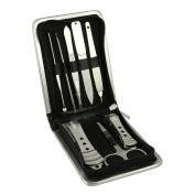 Bao Core® 8 Pcs Nail Care Tools Manicure & Pedicure Set -Travel Grooming Kit