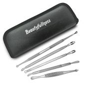 Beautyfullness Facial Blemish and Blackhead Remover Tool Kit