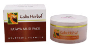 Calix Herbal Papaya Mud Pack Ayurvedic Formula – 60ml