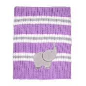 Emma Chenille Stripe Blanket