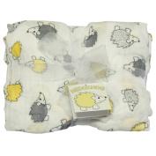 Best Bottom Bamboo Blanket - Hedgehog