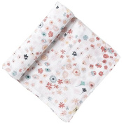 Pehr Designs Meadow Swaddle, Pink