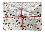 Puppy Love Baby Blanket from Memere Blanket Great for Girls or Boys or that New Puppy!