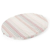 Stokke Sleepi Mini Fitted Sheet, Coral Straw