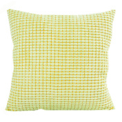 Ikevan Square Pillow Case Fashion Corduroy Pillowcase Sofa Waist Throw Cushion Pillow Cover Home Decor (46cm x 46cm )