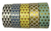 Washi Tape by L'artisant - Premium Quality Set of 5 Beautiful Rolls. Easter