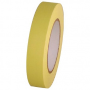 Tape Planet Yellow Masking Tape 2.5cm x 55 yards Roll
