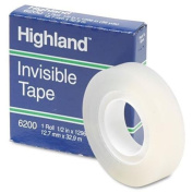 Highland 6200 Invisible Tape, 1.3cm x 3290cm