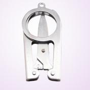 Portable Folding Scissors Mini Folding Scissors Travel Scissors Colour Silver -Pier 27