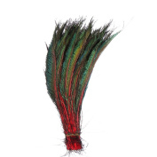 Peacock feather,Hgshow 50 Piece Peacock Swords Natural Feathers 33cm - 38cm