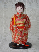 Japanese Doll, Ichimatsu doll, 36cm tall, Asian Doll, B1401