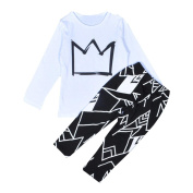 Toraway Child Kids Baby Boys Clothes Set T-shirt Tops + Pants Clothes Outfits