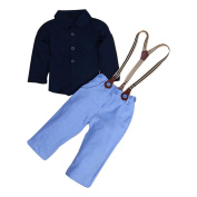 Toraway Child Kids Baby Boys Clothes Set Shirt + Pants Clothes Outfits