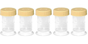 5 Medela Colostrum Collection Container Breastmilk Storage Bottle 35ml BPA Free with Solid Lids 5 Bottle