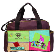 Besporter Baby Nappy Bag For Mommy Travel Tote Bag Orgnizer With Straps Brown