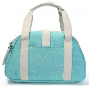 Besporter Baby Nappy Bag For Mommy Travel Tote Bag Orgnizer With Pad Lightcyan Colour