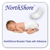 NorthShore Disposable Baby Nappy Doubler w/ Adhesive, Small, Case/90