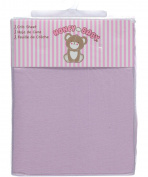 Honey Baby Fitted Crib Sheet - lilac, one size