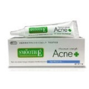 New Smooth E Acne Hydrogel Cream Maximum Strength 5 G Amazing of Thailand