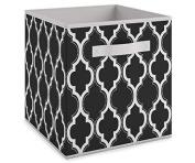 System Build Cube Storage Fabric Bin - Casa Pattern