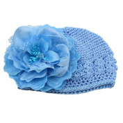 Creazy Newborn Baby Flower Cotton Hat Beanie Toddler Girls Photography Props