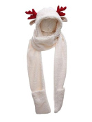 [Red]Winter Child Warm Scarf Special Scarf Hat