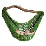 Baby Box Newborn Photography Crochet Hammock Props,Green