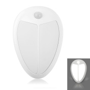Motion Sensor Light, Cordless Battery-Powered Wall Light Step Light Stick-Anywhere Indoors, Safe for Kids, with FREE 3M Adhesive Pads, Great for Hallway, Closet, Stairs