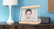 More Sunday CERATO H-0350 Picture Frame Holds 10cm x 15cm Photos For Home Decoration - PMMA+Walnut
