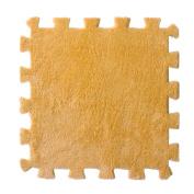 Fullkang 3 PCS 3030CM Bedroom Children Soft Patchwork Carpet Splice Baby Mat (Hot Pink)