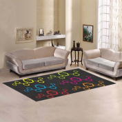 JC-Dress Area Rug Chemical Elements Modern Carpet 2.1mx0.9m