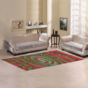 JC-Dress Area Rug Merry Christmas Modern Carpet 3mx0.9m
