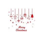 Wall Sticker,SMTSMT Merry Christmas Wall Sticker Home Shop Windows Decals Decor