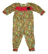 Okie Dokie Baby Girls' 1 Piece Animal Print Romper