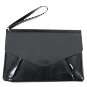 Korea Stylish Fashion Women's Triangle Hand Strap Clutch Bag One Size