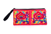 Hill Tribe Coin Purse with Flowers