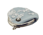 Hflove Ladies Small Clasp Clutch Wallet Girls Coin Pouch