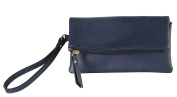 Diophy PU Leather Multi Spaced Bifold Wristlet Clutch Womens Purse Handbag OY-3714