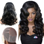 Mike & Mary Top 7A Brazilian Virgin Human Hair Full Lace Wigs for Black Women Body Wave Unprocessed Natural Colour Handmade Human Hair Wigs