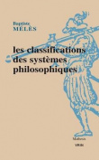Les Classifications Des Systemes Philosophiques  [FRE]