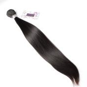 Bella Hair Human Hair Weave Peruvian Virgin Remy Hair Bundles Deals Silky Straight 1 Bundles 20cm - 90cm Natural Black Colour